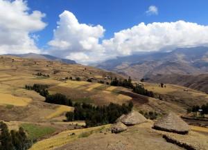 Mit Maultieren, Küchenmannschaft und Zelten unterwegs im Semien-Nationalpark, der zum UNESCO-Welterbe zählt.