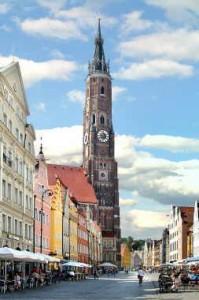 Einen Ausflug wert: die niederbayerische Bezirshauptstadt Landshut.